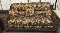New 3 Piece Sofa Set Canadian Made