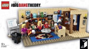 Lego Big Bang Theory (set 21302). This set is retired new sealed