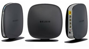 2 x Belkin Wireless N 4 Port Routers In New Condition
