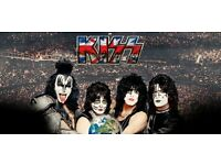 KISS Standing ticket London O2, 31st May 2017