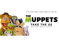 Muppets take the 02 - Friday 13th July - 3x Tickets
