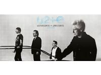 2 x U2 tickets at O2 Arena including accommadation