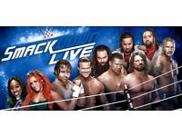 2 x WWE SMACKDOWN LIVE VIP TICKETS AT 02 ARENA LONDON TUESDAY 9th MAY 2017
