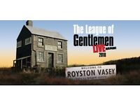 LESS THAN FACE VALUE 2x Tickets for The League of Gentleman LIVE!Manchester Arena Sat 01 Sep 2018