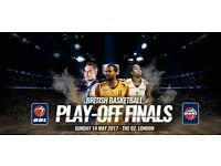 2 x Court Side British Basketball League Play-off Final tickets
