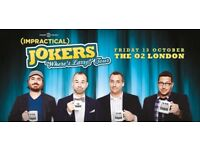 2 x Impractical Jokers Tenderloins Tickets 13 Oct O2