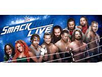 2X WWE SMACKDOWN TICKETS - LONDON - 9/5/17