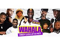 Wahala Comedy Clash - two great seats up for grabs