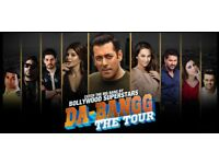 DeBangg Salman Khan Top Seats O2 Arena 6 Seats Seated together for £600 pounds selling at face Value