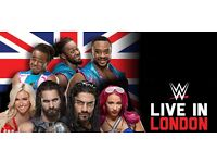 WWE Live In London - O2 Arena - 7th September 2016 - Block 102 Row G Seat 84