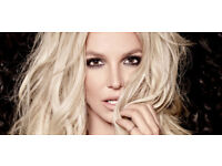 2 Excellent Britney Spears tickets, Friday 24th Aug at O2- Block 107, facing the stage!