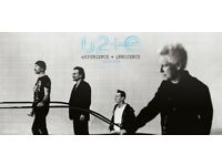 U2 at the O2 arena 23rd October x 2 tickets