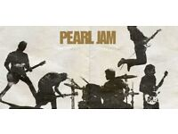 Pearl Jam London 17th July - 2 seated tickets