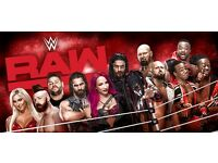WWE Raw Live Event at SSE Arena. 2 tickets for sale.