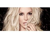 2 x Britney Spears tickets - VIP- Front row - 02 Arena -25th August -