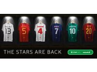 Star Sixes x3 tickets THE DECK seating WITH prepaid food & drink voucher @ The O2, 15th July 11:30am
