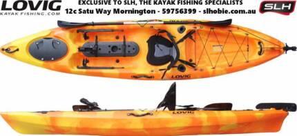 Lovig Kahawai 12 Fishing Kayak Package