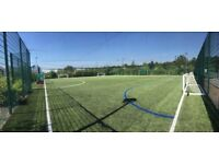 Casual 7-a-side football in Beckton, East London. Play when you can!