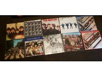 Job lot of 10 Beatles L.P RECORDS all in lovely condition
