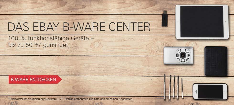 Das eBay B-Ware Center - B-Ware entdecken