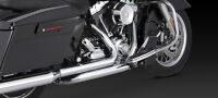 Vance and Hines exhaust True Duals, Mufflers New in Box, Touring