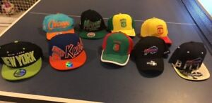 Hats, snap backs, countries