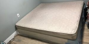 King Size Mattress with Mattress stand Too