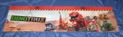 Dinotrux Toys R Us Exclusive Display Sign  Large 4 X 1  Netflix Tv
