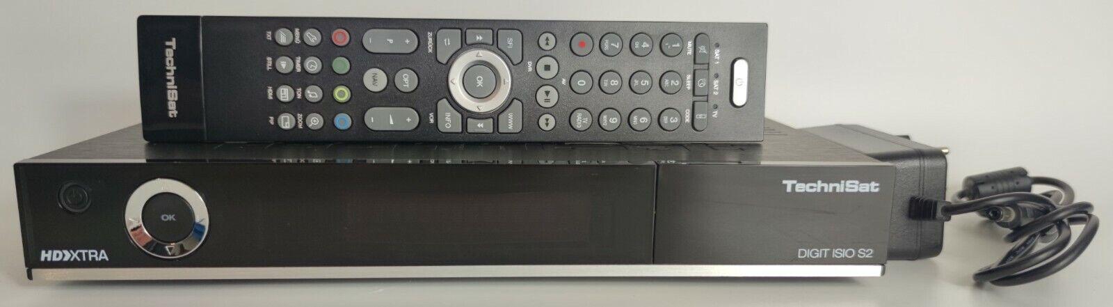 TechniSat DIGIT ISIO S2 Sat-Receiver Twin-Tuner Aufnahmefunktion via USB