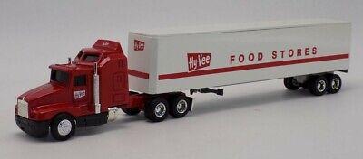 Ertl 80-90's Hy-Vee Food Stores Kenworth Cab w/Trailer #9516 Die Cast 1/64