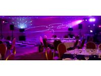 MAIDENHEAD, BERKSHIRE, HOME COUNTIES MOBILE DISCO DJ, VENUE DECORATING & LIGHTING HIRE