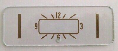 Studebaker clock lens 1941-1948 M5