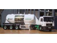 Corgi CC12011, MAN Feldbinder Tanker Lafarge Zement (Optacolor), 1:50