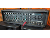 Peavey mono P.A. Amp with spring reverb