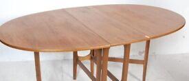 FREE DELIVERY Vintage Mid Century 1960s Teak Drop Leaf Dining Table Like G Plan
