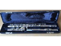 Armstrong 104 USA Flute, Closed Hole and hard Case