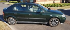 Vauxhall Astra 1.6i 16V Twinport LS 5dr 80500miles. Very comfortable drive