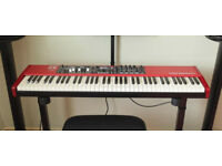 Nord Electro 5D 73 with Semi Weighted Waterfall keyboard. MINT boxed as new.
