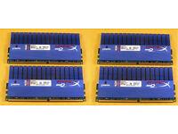 Kingston HyperX 8GB (4x2GB) DDR2-1066Mhz RAM Memory Modules