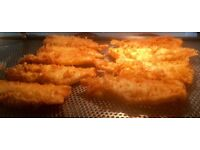 Fish chip fryer chef