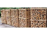Kiln Dried Hardwood Firewood Logs Birch Ash Oak Only £65 Per Dumpy Bag Inc Free Local Delivery