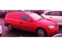 2002 Vauxhall Astravan 1.7 cdti Diesel £670 ono GOOD WORK VAN