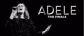 4x Adele Hospitality packages - Saturday night!!