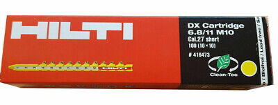 Hilti DX Kartusche 6.8//11 M10 STD gelb #416473 Cartridges NEU OVP