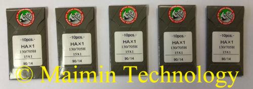 50 ORGAN HOME EMBROIDERY MACHINE NEEDLES 90/14 SHARP