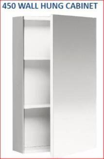 CAPRICE - Wall Hung Bathroom Cabinet - White