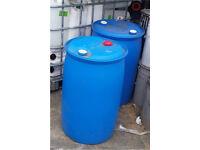 120 Litre Mini Plastic water butt/barrel/drums