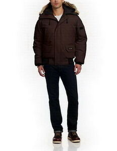 Men Canada Goose Chilliwack Bomber Brown