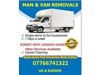 DO YOU NEED A MAN WITH A VAN