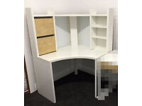 Ikea Micke corner desk workstation